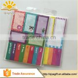 cartoon characters paper bookmark sticky notes