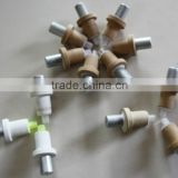 Chinese supplier s type disposable thermocouple with 604 triangle head used for steel mill