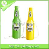 2014 brazil world cup Eco-friendly plastic football bottle air horn with EN71