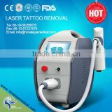 Newest Q -switched nd yag laser tattoo removal machine with1320nm carboon tip for skin rejuvenation