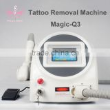 High quality Q switched EO active nd :yag laser Skin whitening tatoo removal beauty machine from China