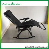 Backyard Lounge Porch Seat Zero Gravity Steel Folding Rocking Chair