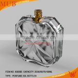 nice empty glass perfume bottle manufacturer factory & crystal perfume packaging bottle