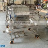 Stainless steel material food separation machine of best selling,small plate-frame press filter