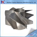 precision casting pump parts steel impeller