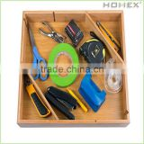 Day -to Day Use Bamboo Drawer Organizer/Homex_BSCI
