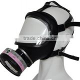 TF10D Military Full Face Silica Gel Chemical Gas Mask with General Poisonous Gas Canister Mask