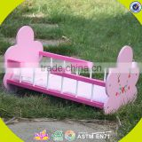 hot sale wooden baby crib new design comfortable Swing baby crib/Baby rocking cradle WJ278012A