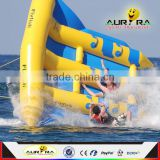 INquiry about Inflatable flying fish water towable tubes banana boat water sport game