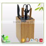Custom made bamboo bamboo rod knife block