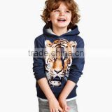 digital printing children boy hoodies cute animal clothes baby