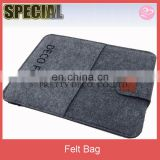 13 inch New style multi layer felt laptop bag, tablet sleeve