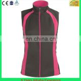 girl vest black polyester soft shell vest for women plain vest softshell(6 Years Alibaba Experience)