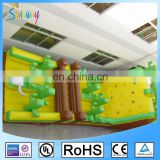 OEM giant adult inflatable obstacle course