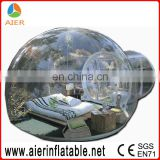 2017 Aier outdoor luxury inflatable transparent tent/hot sale inflatable tents