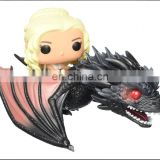 Custom Funko POP Rides Game of Thrones - Dragon & Daenerys Action Figure pvc vinyl toy