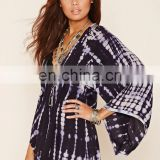 2016 Summer's Beachwear Cover Ups Kaftans / Stylish Tie & Dye Rayon Beach Cover Ups