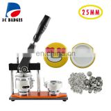 "High Quality Rotary 1"" 25mm Pin Badge Manual Metal Button Maker Machine Badge Making Press Machine"