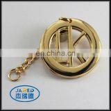 Custom cheap design metal gold charm decration pendant for engraving