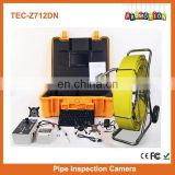 "50mm Camera 7"" LCD Screen Sewer Pipe Inspection Camera for Sale TEC-Z710DN"