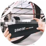 hook loop sticker Black anti-slip neoprene bicycle frame protector