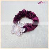 Luxury Fashion Flower Hijab Velvet Hair Scrunchies Wholesale                                                                         Quality Choice