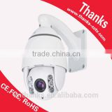 PTZ mini high speed dome camera HD 10x auto focus cctv camera