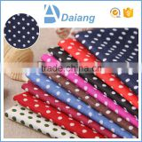 wholesale factory popular small dotted cheap100 cotton woven fabric for toy and sofa cover in stock