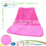 100% polyester super soft baby sleeping blanket for girl