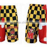 Wholesale sportswear sublimated custom printed lacrosse shorts                                                                         Quality Choice