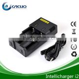 high quality ecig 18650battery/18350battery/ charger intellicharger i2 charger