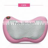 Electric Car Head Shoulder Back Body Neck Kneading Shiatsu Massage Pillow with Heating