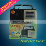 Built-in Speaker Am Fm Vintage Retro Style Portable Desktop Radio