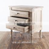 Bedroom Furniture Antique Wooden Bedside Table