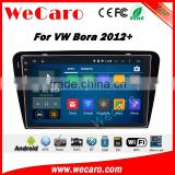 Wecaro WC-VB1034 10.2 inch android 4.4/5.1 car stereo audio for vw bora car gps navigation 2012 + With Wifi 3G GPS Radio RDS