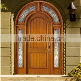 Entry Solid Wood Double Door
