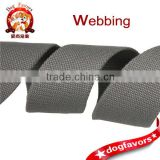 4.3cm grey polyester cotton beads pattern webbing