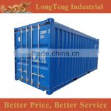PVC cover 20ft feet open top containers price                                                                                                         Supplier's Choice