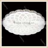 Large Luxury Modern led Ceiling Lights K9 Crystal Luminaire, Nature White Ceiling Crystal Chandelier Light for hotel