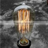 Retro Carbon Filament Edison Light Bulb E14 E26 E27 B22