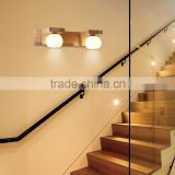 Acrylic Rubber wooden Wall Lamp Home Commercial LED Lighting                                                                         Quality Choice