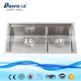 Malaysia undermount double bowl kitchen sink with automatic soap dispenser                                                                                                         Supplier's Choice