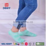 Candy color cotton terry ankle sock for women and girls