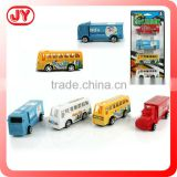 Promotion gift container truck toy pull back car
