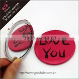 Promotions pocket mirror /Souvenir pocket mirror/metal craft pocket mirror