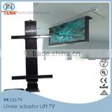 60/55 inch pop up drop down electric TV lift for modern furniture