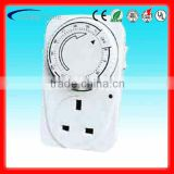 GT3-2311 British style programmable count-down timer switch 30', 60', 120', 6Hs, 12Hs