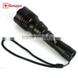 GOREAD C66 High bright rechargeable Q5 LED diving flashlight