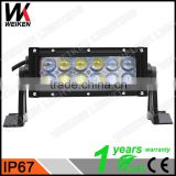 WEIKEN wholesale led light bar offroad 36w led strip bar light 4D aluminum housing led light bar