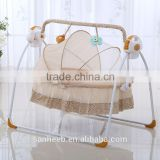 Lovely Musical Baby Rocking bed,Kid swing bed &crib